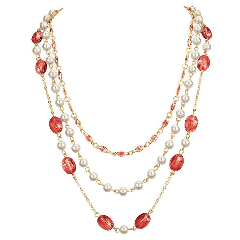 birthstone elegance necklace UK BENS d four
