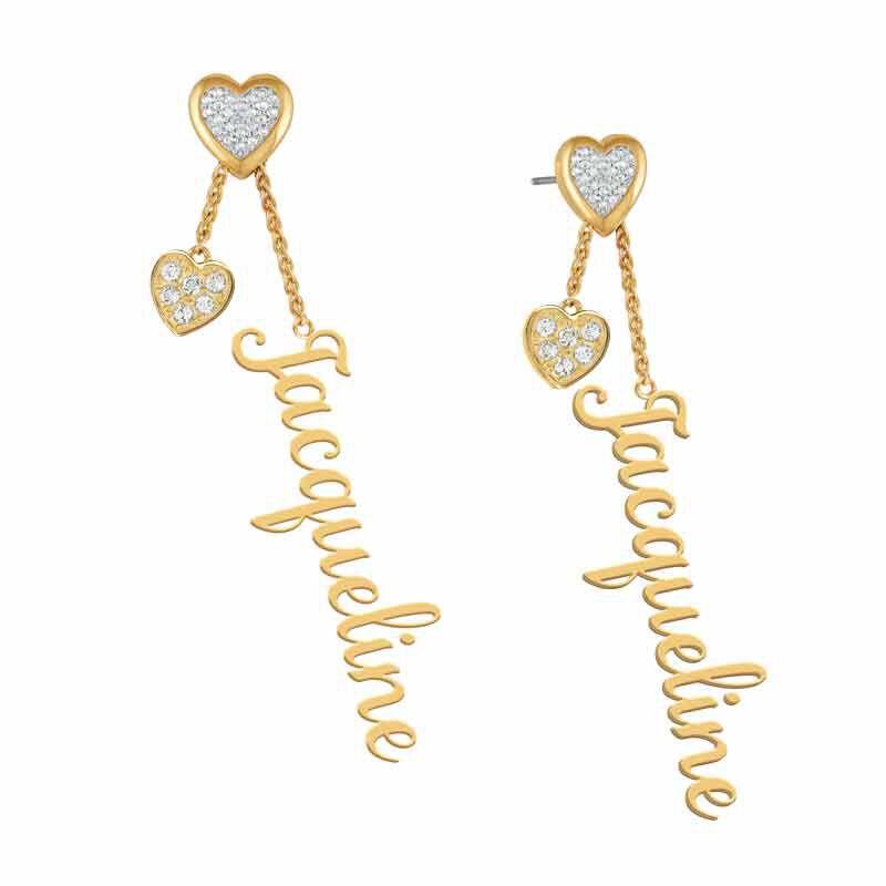 personalised birthstone earrings UK PBEAR k eleven