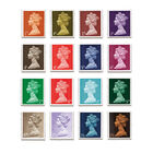 the elizabeth ii definitive stamp collec UK QESC c three