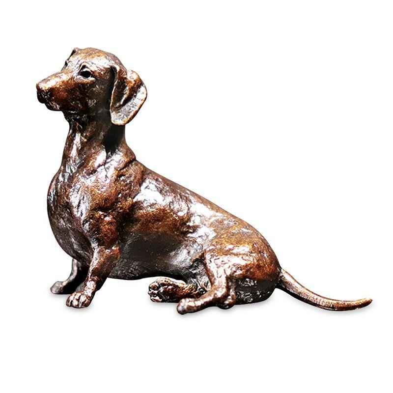 tiny sausage dachshund bronze UK TSDB a main