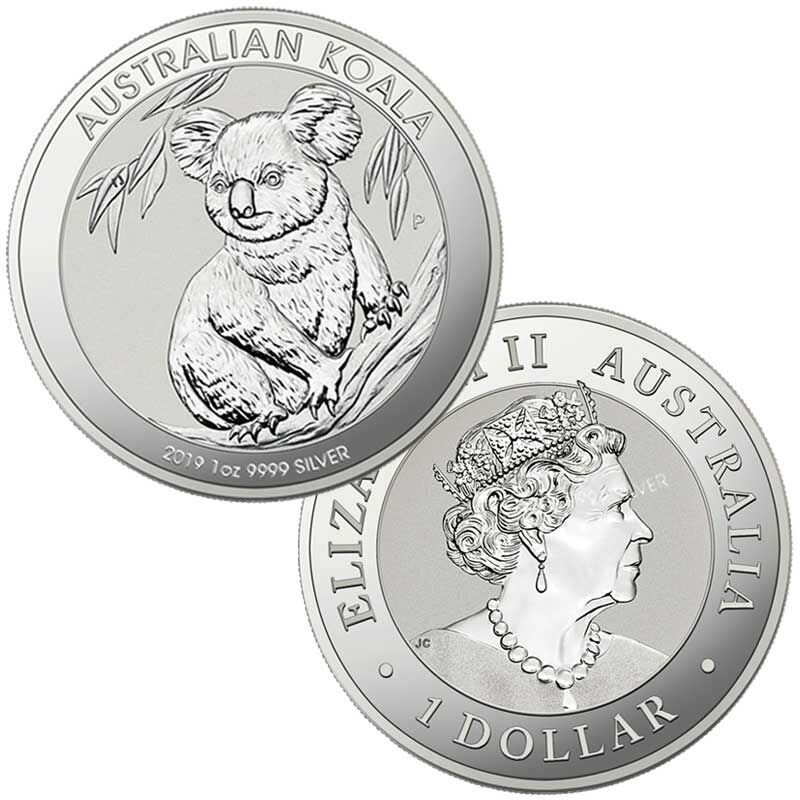 the 2019 early issue australian silver d UK A19D b two