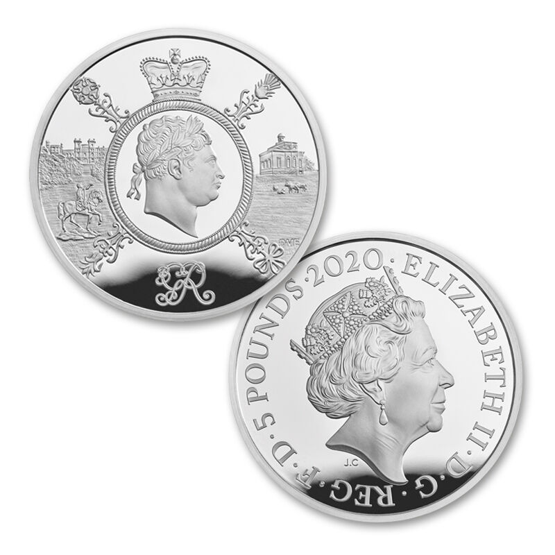 the george iii silver coin collection UK G3AC f six