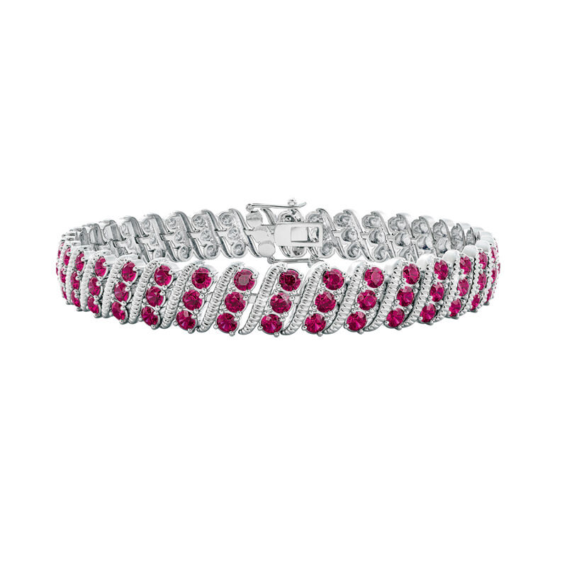 bold beautiful birthstone bracelet UK BSBBB g seven