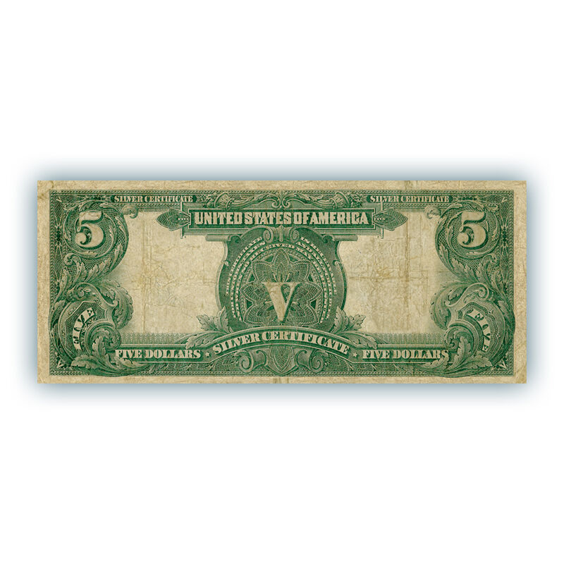the famous indian chief five dollar silv UK ICSC f six