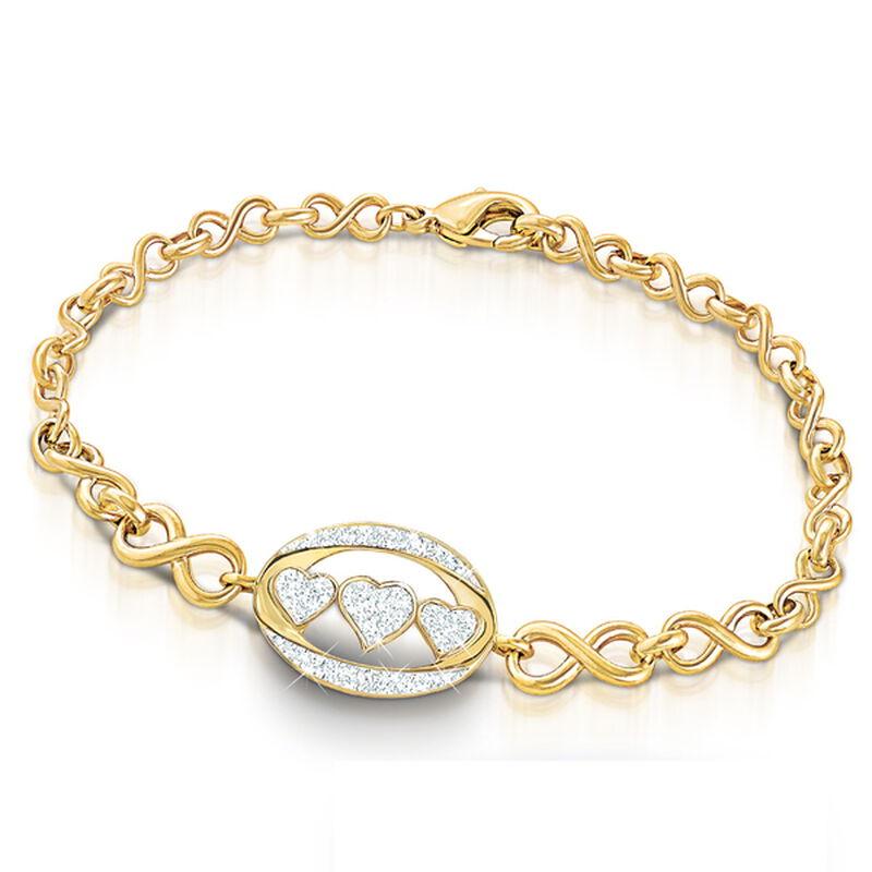 i love you daughter diamond bracelet UK DILYB2 a main
