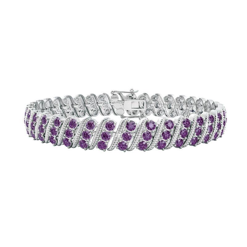 bold beautiful birthstone bracelet UK BSBBB b two