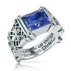 i can do all things birthstone ring UK ICDBR b two