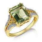 honeydew green amethyst ring UK HDGAR a main