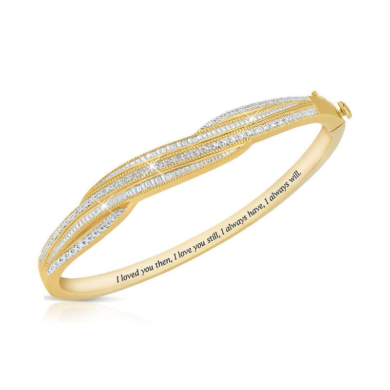 everlasting love diamond bangle UK ETLDB a main