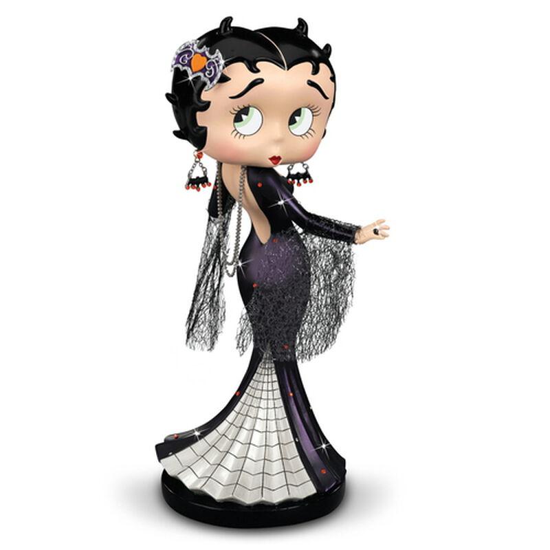 enchanting betty halloween figurine UK ENBFR a main