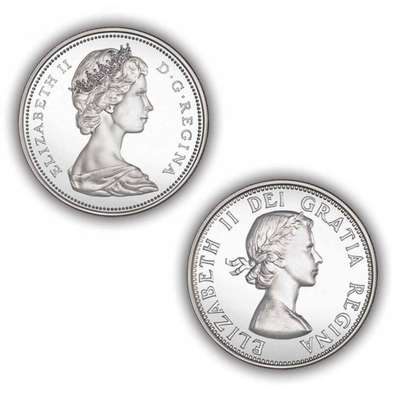 brilliant uncirculated canadian silver d UK CSDC c three