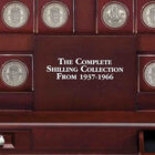 the complete shilling crystal collection UK SHC c three