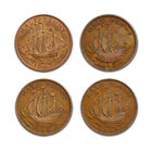 the complete golden hind halfpenny colle UK GHHP a main