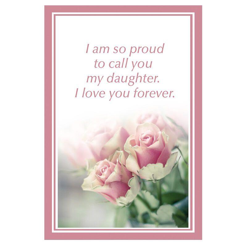 daughter love for a lifetime rose pendan UK DLLRP c three