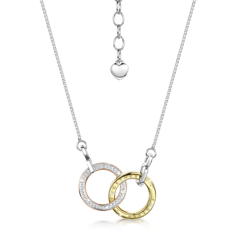 together forever entwined necklace UK TFEN b two