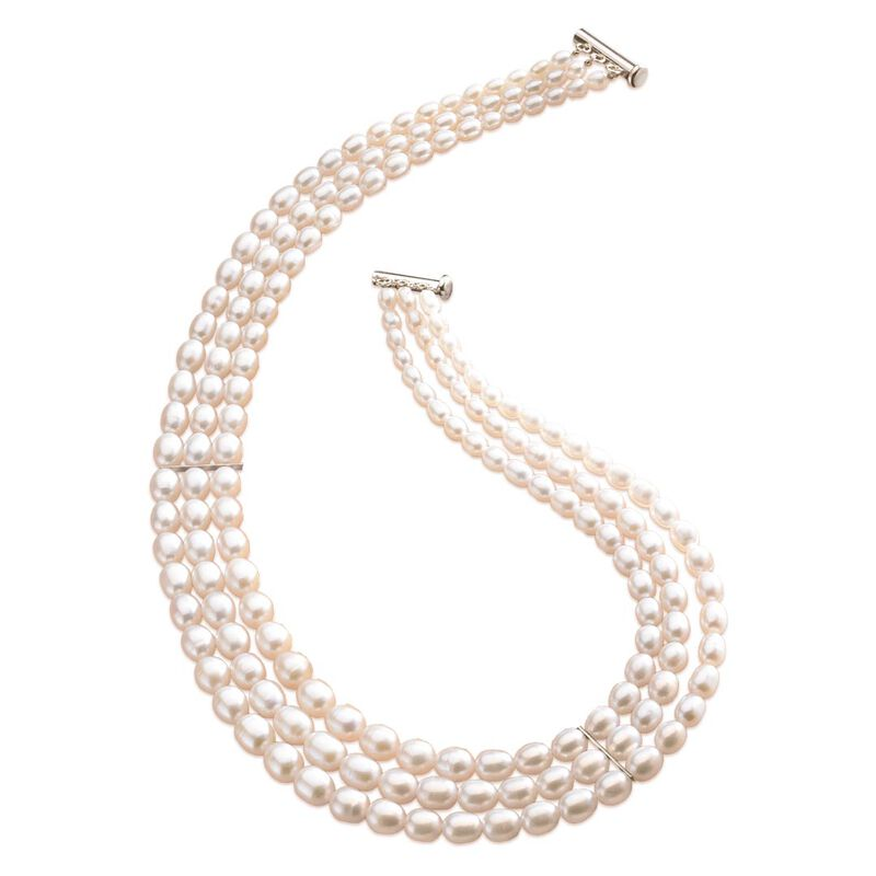 sweet harmony cultured pearl necklace UK SHPN a main
