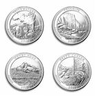 the land of the free u s state quarters UK ABR a main
