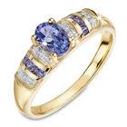 totally tempting tanzanite diamond 9ct g UK TOTETR a main