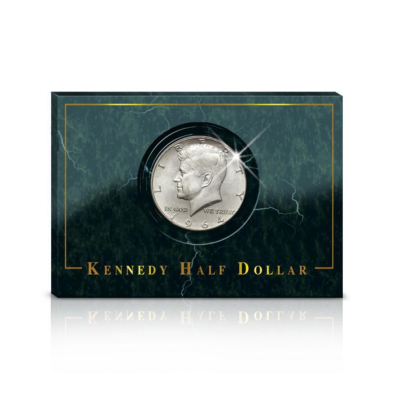 1964 kennedy half dollar UK CCAJK b two
