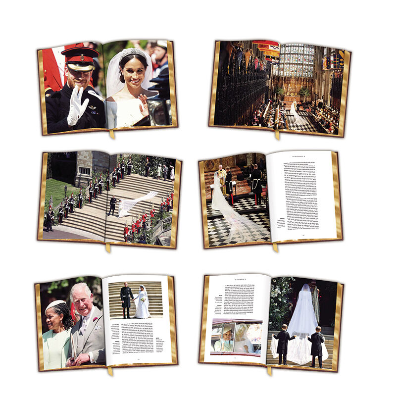 harry meghan the royal wedding album UK RWABK c three