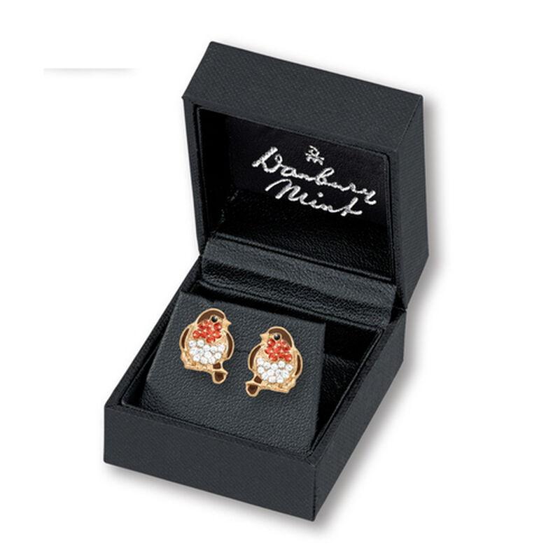 crystal robin earrings UK CROE b two