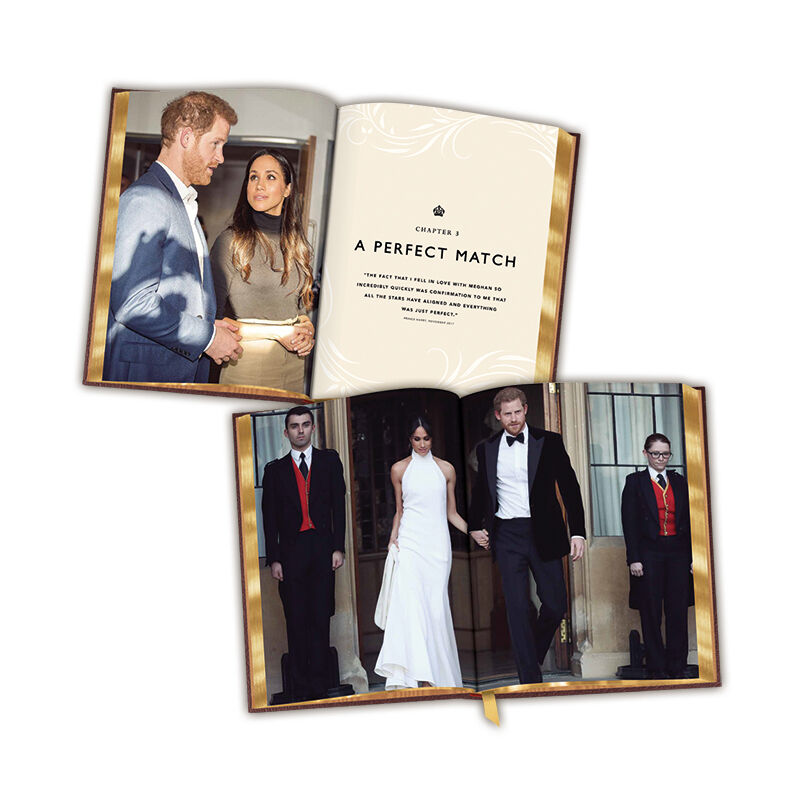 harry meghan the royal wedding album UK RWABK b two