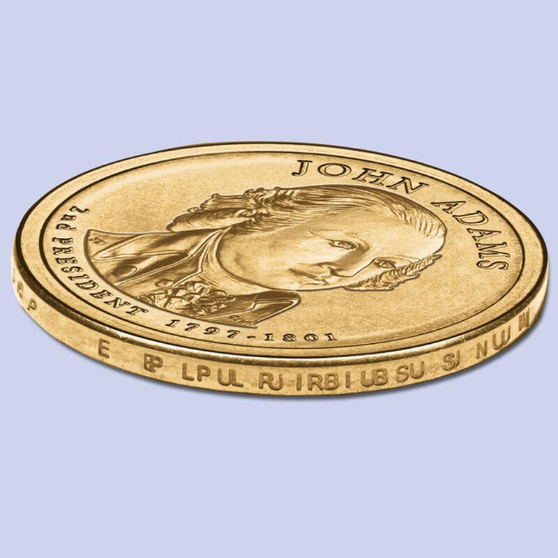 2007 adams dollar error coins UK ADEC c three