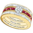 a dozen rubies diamond ring set UK DRDRS a main