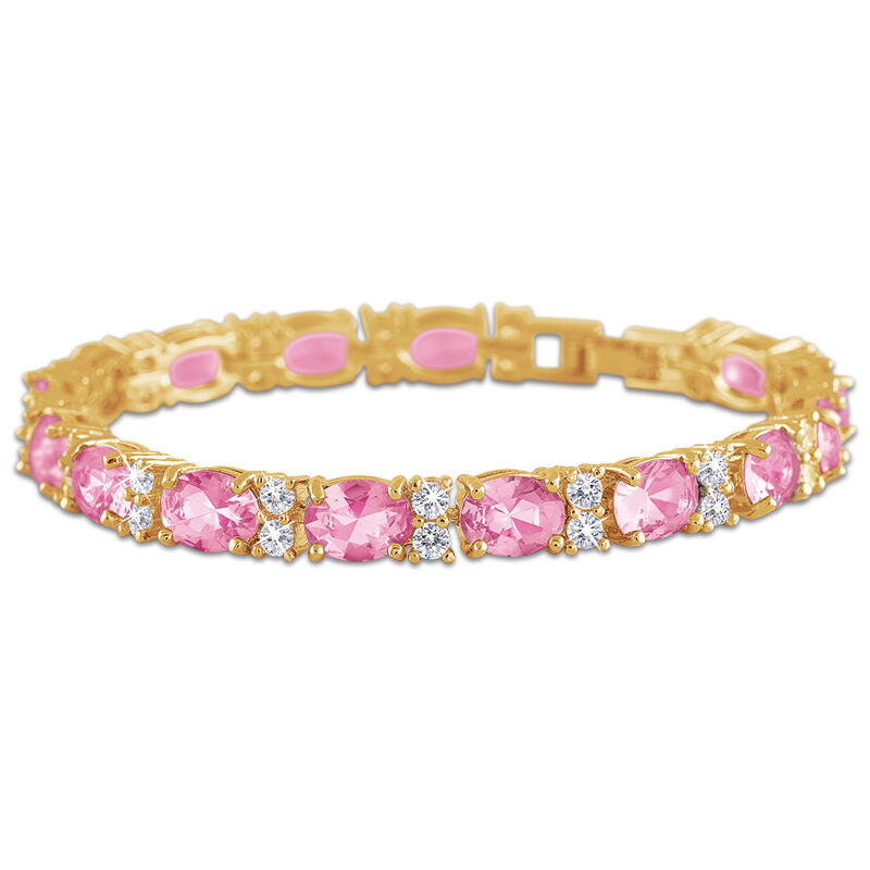 birthstone tennis bracelet UK BDTB2 k eleven
