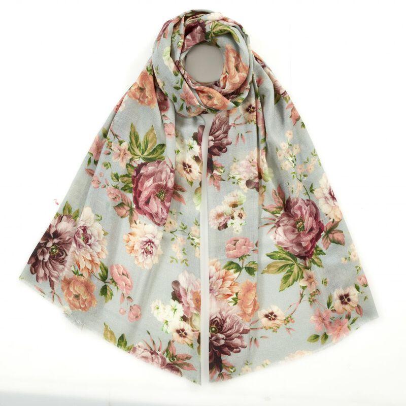 secret garden cashmere scarf UK SGCS a main