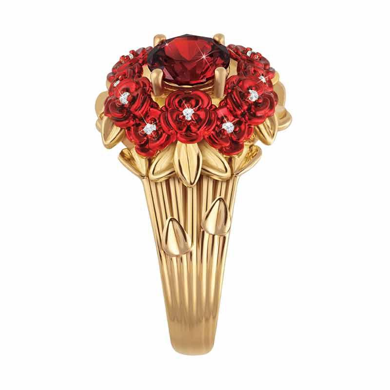a dozen roses diamond ring UK ADRDR2 b two