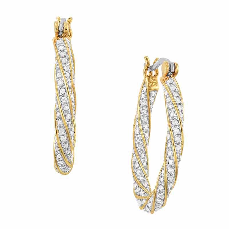 Dazzling Diamond Swirl Hoops 6207 001 6 1