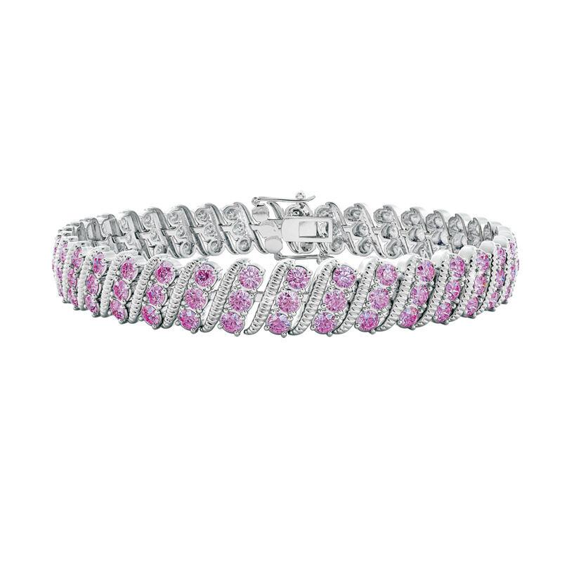 bold beautiful birthstone bracelet UK BSBBB f six
