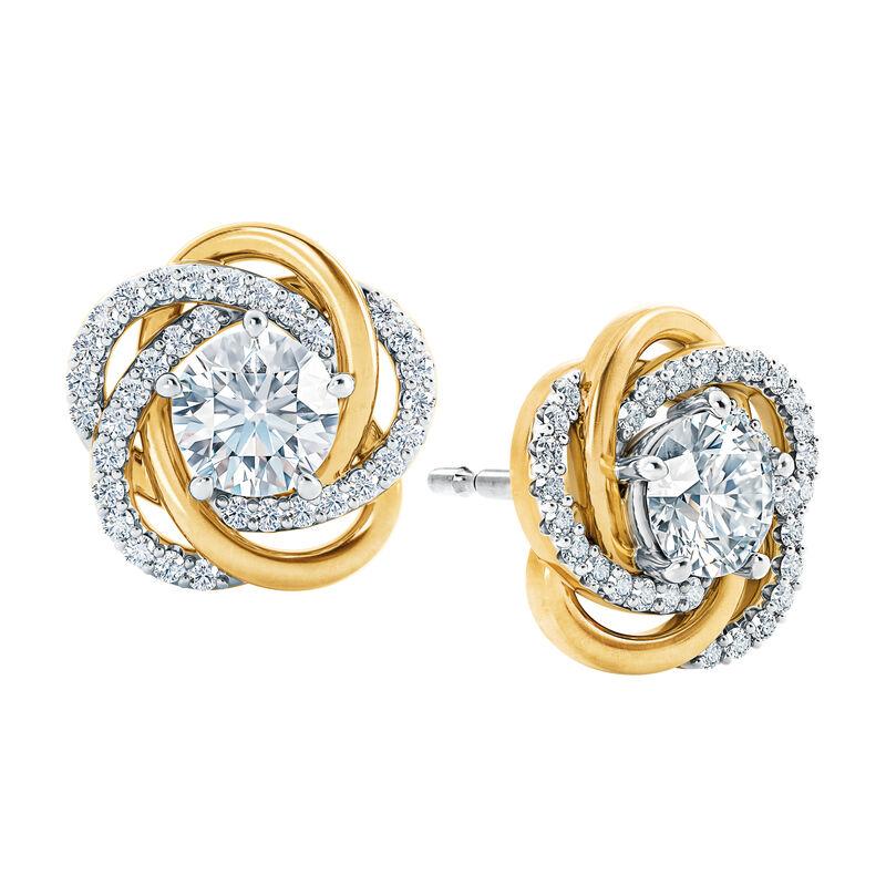 A Forever Bond Love Knot Pendant 10132 0018 c earring