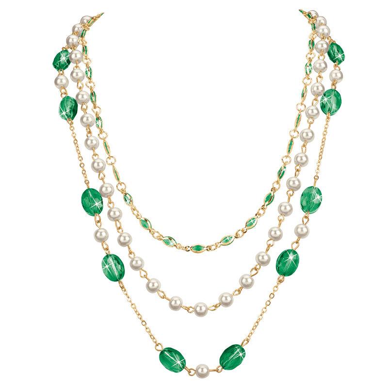 birthstone elegance necklace UK BENS h eight