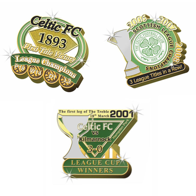 celtic fc victory pins UK CEVP c three
