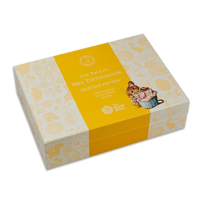 the mrs tittlemouse silver gift set UK BPBTM c three