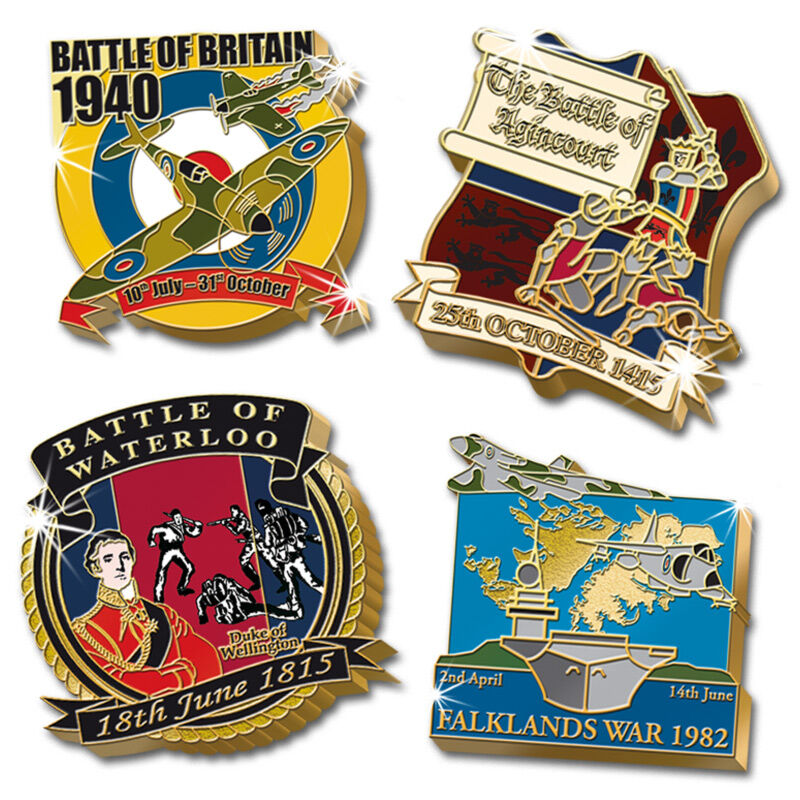 the british victory collector pins UK BVP b two
