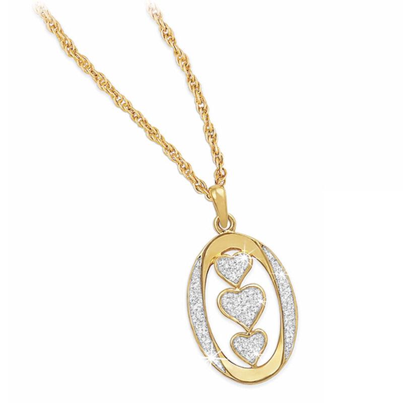 my granddaughter i love you diamond pend UK LYGDP2 a main