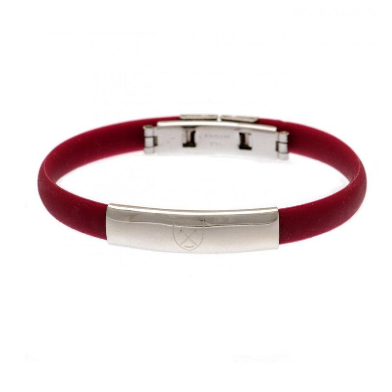 the west ham united silicone bracelet UK WHSBR a main