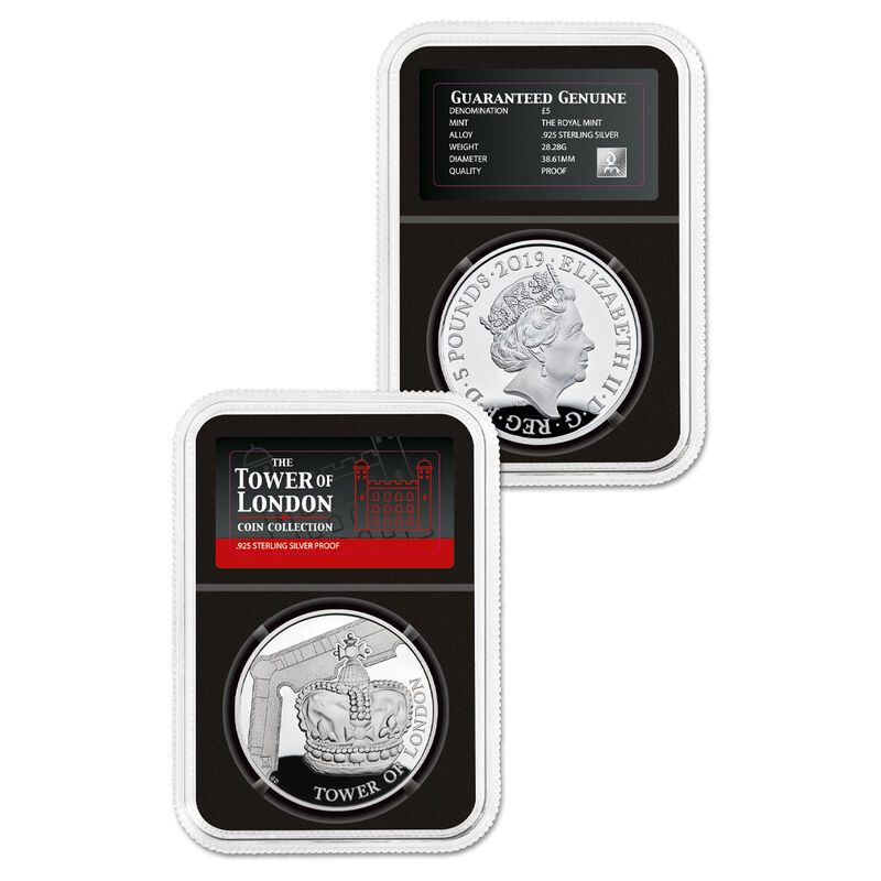 the complete tower of london silver proo UK TLSC d four