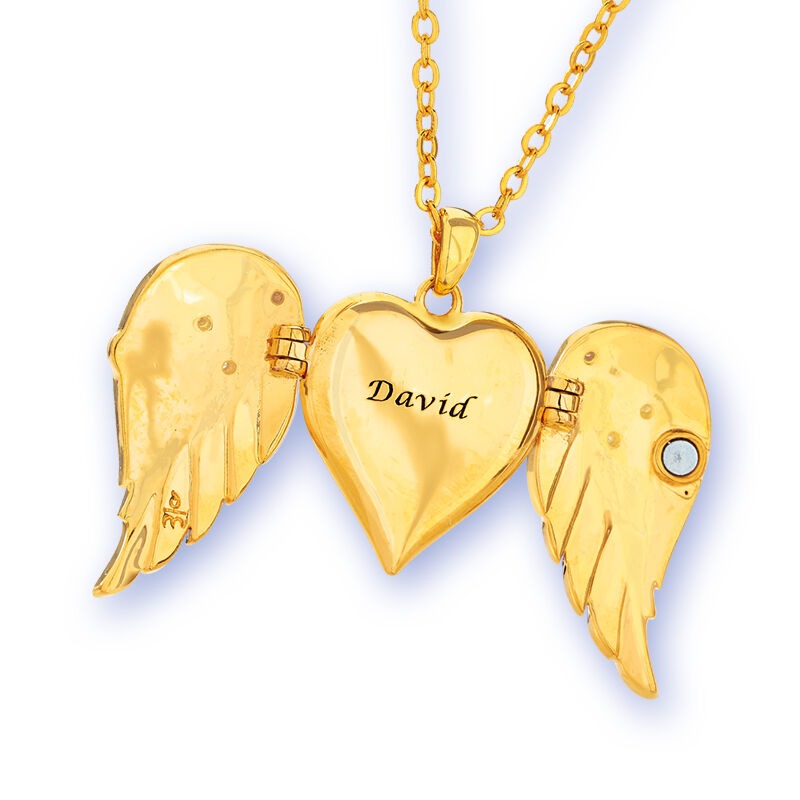 in the arms of the angels locket UK AAL c three