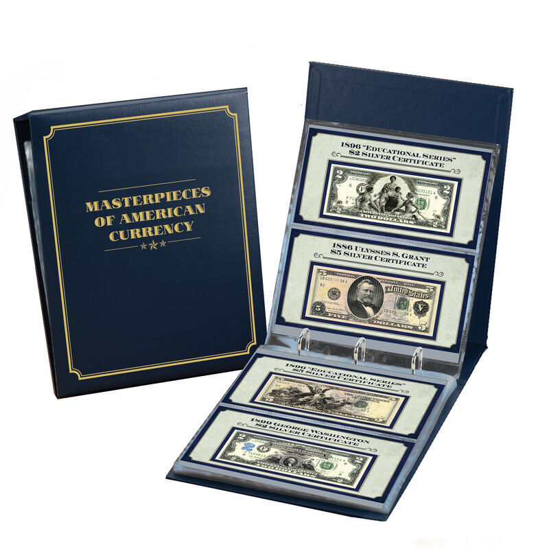 masterpieces of american currency UK MAC e five