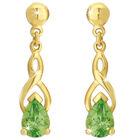 perfect in peridot 9ct earrings UK PIPGE a main