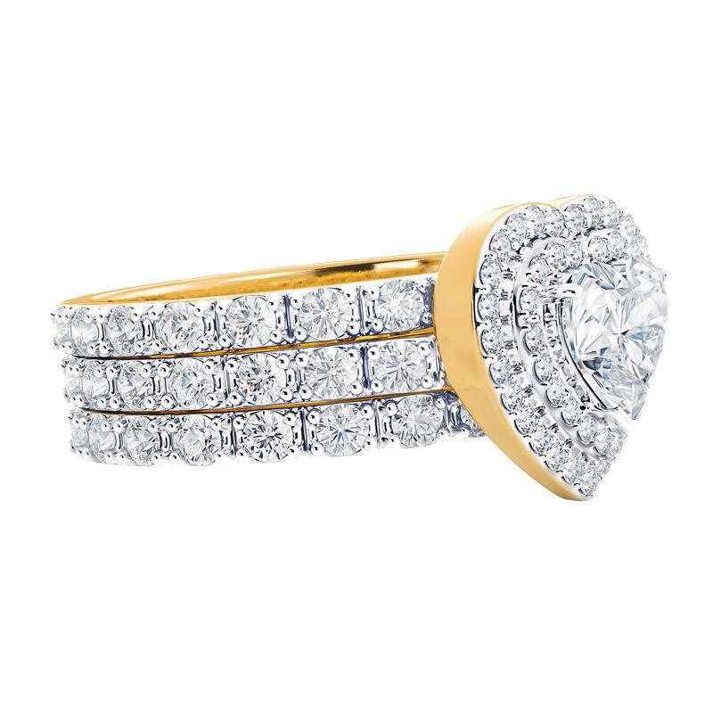 love everlasting stacking ring set UK LESRS c three