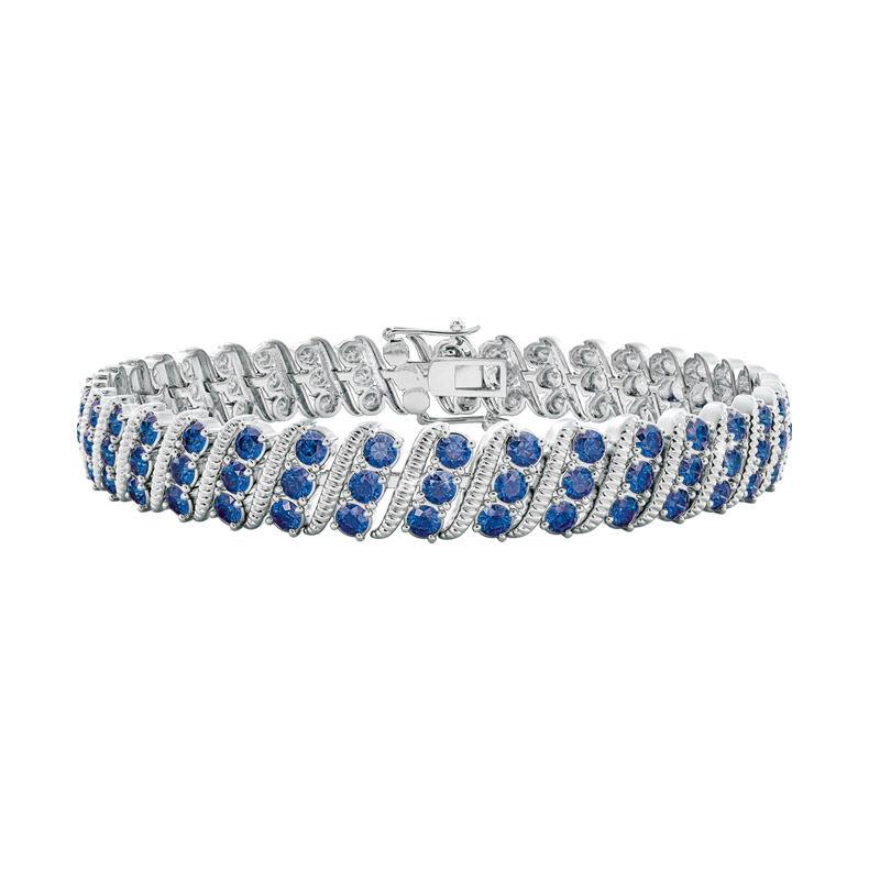bold beautiful birthstone bracelet UK BSBBB i nine