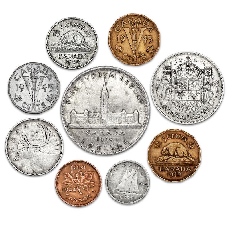 canadian coins of world war ii UK WWCN a main