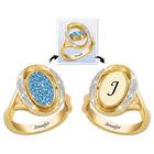 diamond birthstone flip ring UK DABFR a main