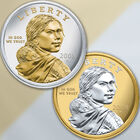 the platinum gold highlighted sacagawea  UK NPG a main