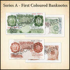 the bank of england collection UK BNC c three